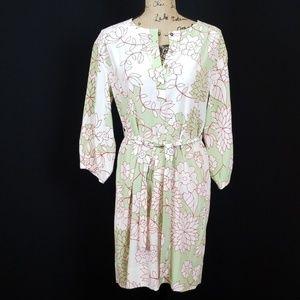 Diane von Furstenberg silk long sleeve dress Rk:8